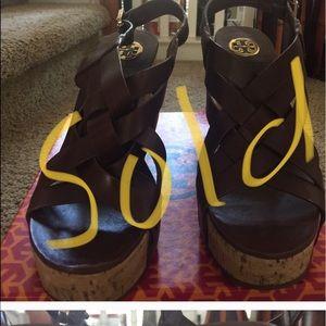 Tory Burch Wedge Sandals